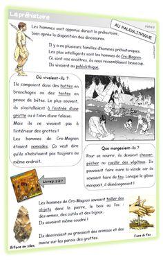 Dossier Préhistoire - CP/CE1