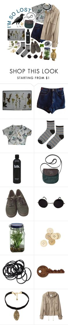 """""""Every morning there are mountains to climb"""" by purpleghost ❤ liked on Polyvore featuring American Apparel, Chanel, Topshop, Vans, House of Harlow 1960, Alöe, C.R.A.F.T., H&M, Vanessa Mooney and Étoile Isabel Marant"""