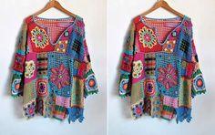 motiflerden bluz