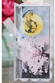 Creative Expressions Designer Boutique Collection Secret Garden DL Pre Cut Rubber Stamp - Creative Expressions - HixxySoft