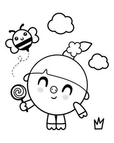 Rainbow Birthday Party, Birthday Parties, Colouring Pages, Coloring Books, Beginner Painting, Hello Kitty, Crafts For Kids, Snoopy, Crafty