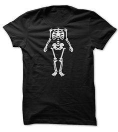 Halloween Funny Skeleton Costume Tee T-Shirts, Hoodies. SHOPPING NOW ==► https://www.sunfrog.com/Holidays/halloween-funny-t-shirt.html?id=41382