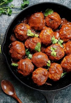 3. Creamy Coconut Milk Meatballs #greatist https://greatist.com/eat/whole-30-recipes-for-every-meal