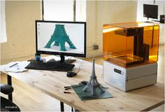 "FORM 1 | AFFORDABLE & PROFESSIONAL 3D PRINTER    Kickstarter is bringing to life some amazing products. The latest mesmerizing project we came across is the ""Form 1"", an affordable, high-resolution 3D printer for professional creators. Tech company Formlabs have created a low-cost 3D printer with the power and resolution of a professional machine on your desktop"