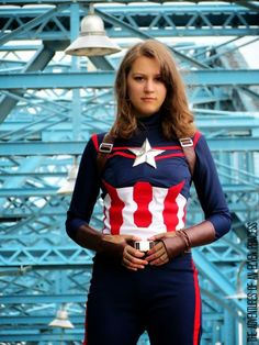 The Adventures of An Elven Princess: Captain America Cosplay - The Photoshoot