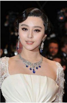 Celebrity Dresses Fan Bingbing White Prom Dress Cannes Film Festival 2011