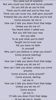 "Anberlin - ""Unstable"" lyrics."
