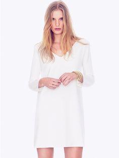 Ba white dress