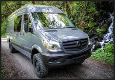 4x4 Mercedes Sprinter Conversions By Outside Van