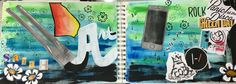 """Visual Journals #1 - Draw/Paint - """"ME"""" - NGHS Room 406"""