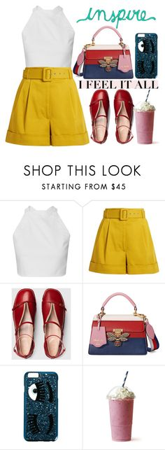"""Untitled #318"" by poorvashikalra ❤ liked on Polyvore featuring Isa Arfen, Gucci and Chiara Ferragni"