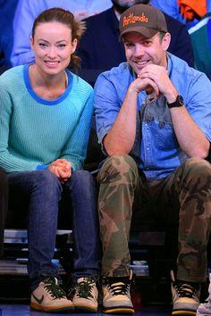 Jason Sudeikis & Olivia Wilde I think they're my favorite celebrity couple :)