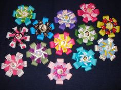 Gotta love Disney hair bows!  These are adorable!
