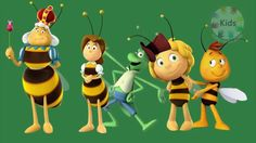 Maya the Bee Sleeping Beauty | 3d finger family rhymes for kids | nurser...
