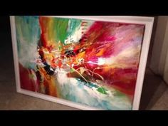 NARCISISM painting, by Dan Bunea, living abstract paintings - YouTube