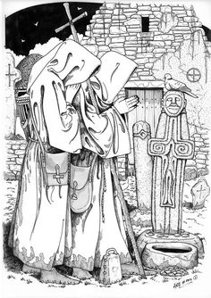 Early Celtic Christian monks by Alan R. Braby