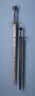 Sword, Oakeshott type XVIa; pommel type K 15thC