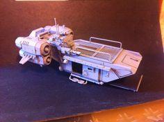 "Stryker Barge ""Jorga"" - Custom model"