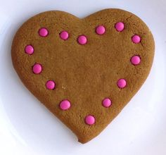 GINGERBREAD HEARTS box of 6 by Marmalady on Etsy (Home & Living, Food & Drink, Baked Goods, Cookies, biscuit, gingerbread, heart, valentine, love, spicy, ginger, uk, decorated, customisable, gingerbread heart, heart cookie, gingerbread cookie)