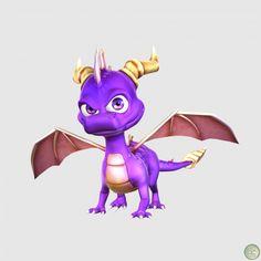 hello im spyro Spyro from eternal night