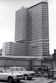 The Penta Hotel, London The Penta was designed by Richard Seifert and partners and built in Gloucester Road, Kensington And Chelsea, London Hotels, West London, Skyscraper, Earls Court, Multi Story Building, 1970s, Cha Cha
