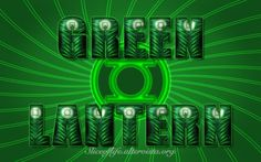 Green Lantern - Version 2 (Green Lantern Corps/Justice Society of America) Wallpaper