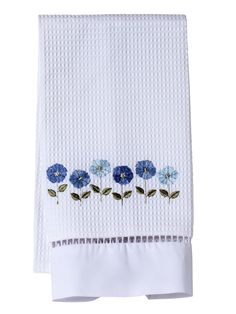 DG02 Guest Towels, Waffle Weave** (Embroidered, Ladder Lace)