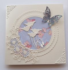 Friend Cards, Cards For Friends, Card Making Tips, Making Ideas, Butterfly Cards, Flower Cards, Sympathy Cards, Greeting Cards, Poppy Cards