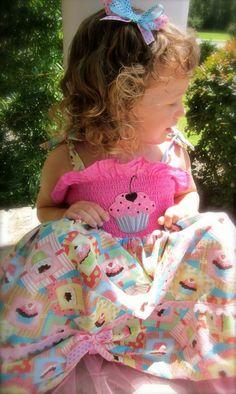 Cupcake Princess Dress by lillollipopsdesigns on Etsy, $49.99