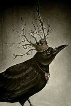 Crow/Raven are keepers of spiritual wisdom and teachers of mysticism. Crow/Raven energy transforms by helping us understand our deep inner self and removes the karmic conditions which holds us back. Crow Art, Raven Art, Crow Or Raven, Quoth The Raven, Fantasy Kunst, Fantasy Art, Street Art, World Poetry Day, Image Beautiful