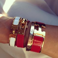 Hermes and Cartier