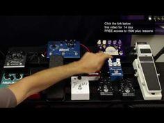 "Guitar Effects Pedal Order on a Pedalboard Brett Papa ""Papastache"""