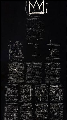tuxedo by jean-michel basquiat, 1982