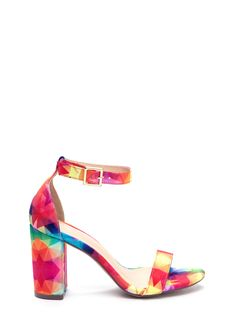 Killer Look Chunky Rainbow Heels MULTI - GoJane.com Amour, Chaussure,  Chaussures À 0a6e12a8fde