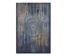 Covor albastru, Stil modern, 5 dimensiuni, Modele abstracte, Navy Blue - hoome.ro