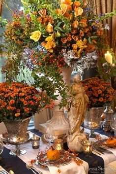 18 Romantic Ideas of Fall Wedding Centerpieces for Your Big Day Our collection of… - http://makeupaccesory.com/18-romantic-ideas-of-fall-wedding-centerpieces-for-your-big-day-our-collection-of-3/