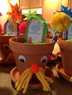 Lorax party planter