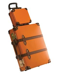 Globe-Trotter Luggage - Made in England on original Victorian machinery - love it!