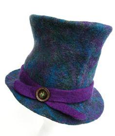 Alice in Wonderland - Felt Top Hat