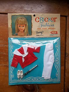 1960s American Character Tressy Cricket Doll Fashion Outfit Mint in Package | eBay