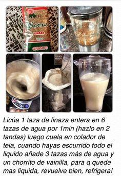 Leche de linaza / Flaxseed milk