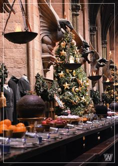 Harry Potter Studios Tour, Warner Bros, Londres, Leavesden, Visite Studio Harry Potter London, Harry Potter Studios, Hollywood California, California Usa, Fantastic Beasts, Warner Bros, Tour, Hogwarts, Table Decorations