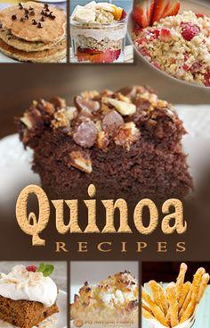 Quinoa Recipes on MyNaturalFamily.com