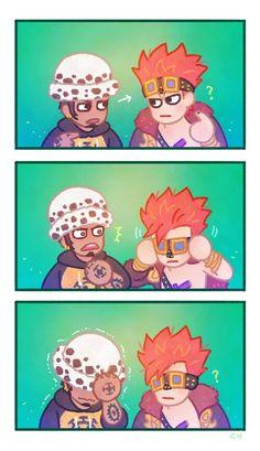 One Piece, Law, Kid