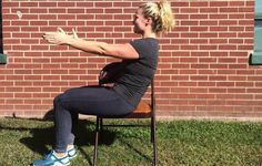 The Easy But Effective 6 Minute Core Workout You Can Do Sitting Down Desk Workout, Workout Plans, Fitness Tips, Health Fitness, Senior Fitness, Strength Training Workouts, Improve Posture, Workout For Beginners, Workout Challenge