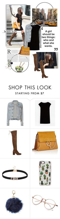 """""""baby girl."""" by middayxmuse ❤ liked on Polyvore featuring RALPH, TAXI, rag & bone, Boden, Stuart Weitzman, Chloé, Casetify, Charlotte Russe, Sagaform and White Label"""