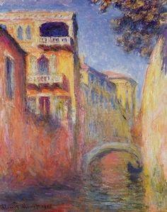 """Claude Monet """"Rio Della Salute"""""""