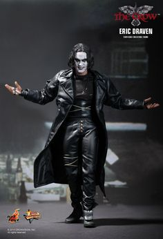 Hot Toys : The Crow - Brandon Lee as Eric Draven 1/6th scale collectible figure