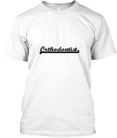 Orthodontist Artistic Job Design White T-Shirt Front - This is the perfect gift for someone who loves Orthodontist. Thank you for visiting my page (Related terms: Professional jobs,job Orthodontist,Orthodontist,orthodontists,braces orthodontist,orthodontic braces ...)