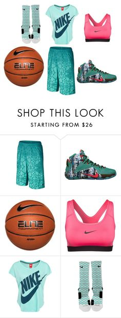 """""""basketball"""" by nosaj14 ❤ liked on Polyvore featuring NIKE"""
